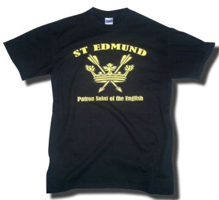 St Edmund T-Shirt - Black